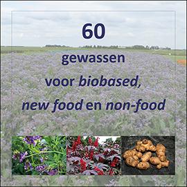 60 gewassen voor biobased, new food en non-food